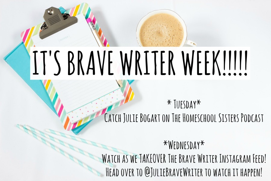 its-brave-writer-week Julie Bogart