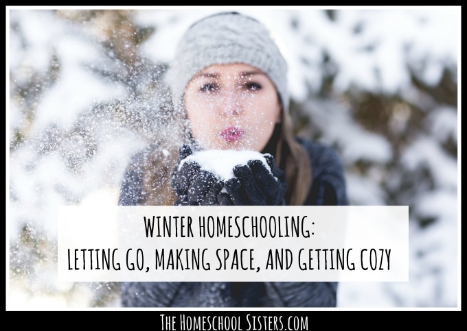 WINTER HOMESCHOOLING: LETTING GO, MAKING SPACE, AND GETTING COZY