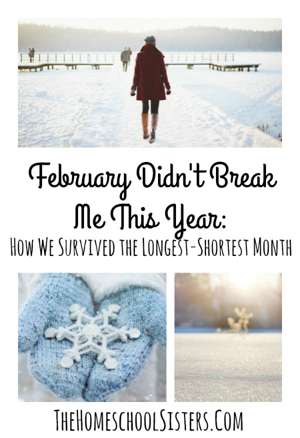 February Didn't Break Me This Year: How We Survived the Longest-Shortest Month | The Homeschool Sisters Podcast