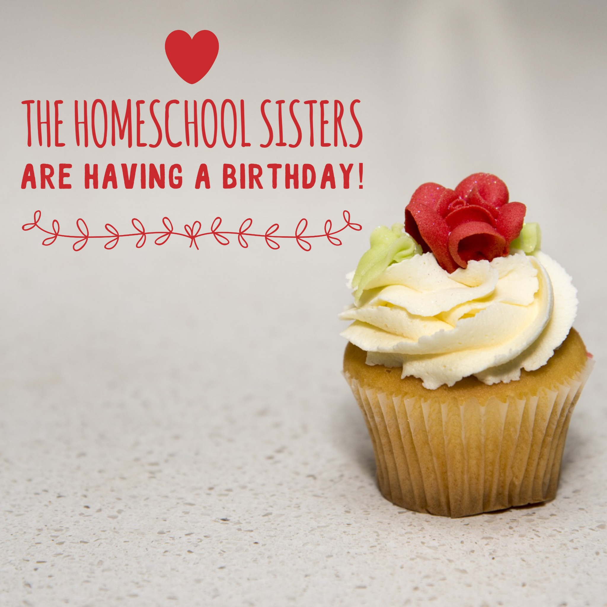 The Homeschool Sisters are Having a Birthday!