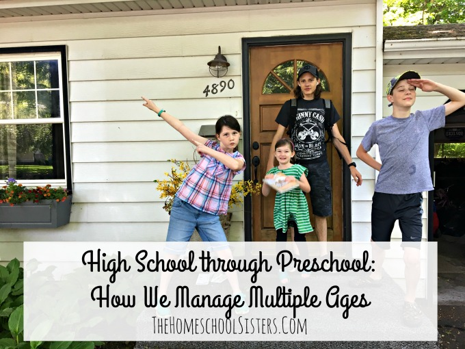 High School through Preschool: How We Manage Multiple Ages {A Guest Post from Alicia Hutchinson, Founder of Learning Well Community} | The Homeschool Sisters Podcast