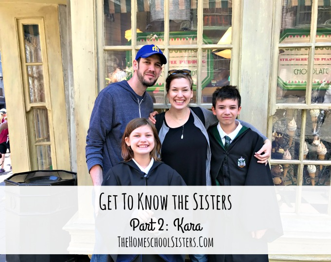 GET TO KNOW THE SISTERS PART II: KARA {EPISODE 39} | THE HOMESCHOOL SISTERS PODCAST