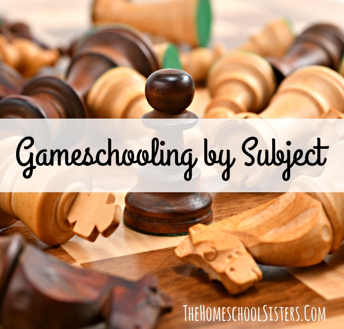 Gameschooling by Subject {Episode 54} | The Homeschool Sisters Podcast