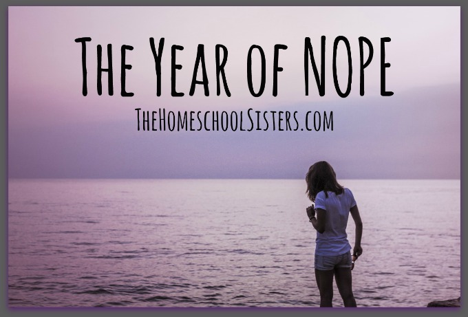 The Year of Nope | Caitlin Fitzpatrick Curley, The Homeschool Sisters Podcast