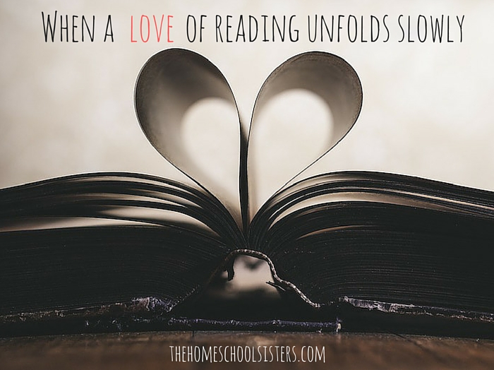 When a LOVE of reading unfolds slowly | Kara S. Anderson, The Homeschool Sisters Podcast