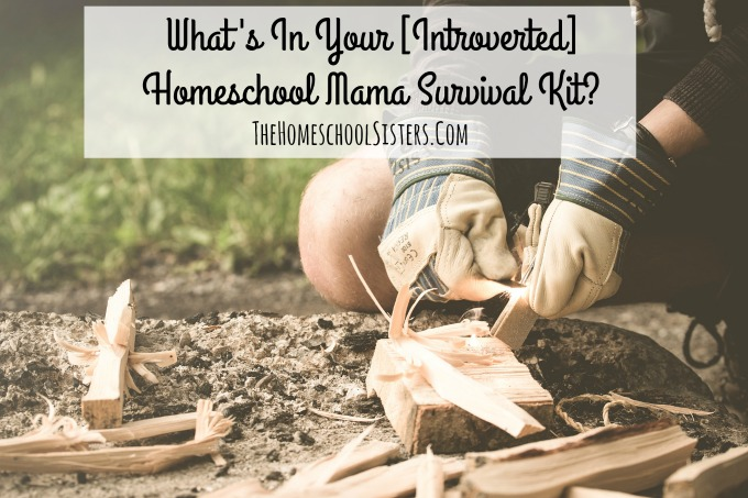 What's In Your Introverted Homeschool Mama Survival Kit? | The Homeschool Sisters Podcast