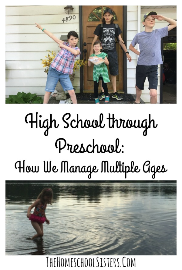 High School Through Preschool {Guest Post by Alicia Hutchinson of the Learning Well Community} | The Homeschool Sisters Podcast