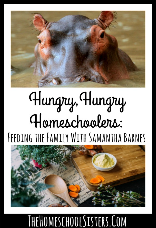 Hungry,Hungry Homeschoolers: Feeding the Family With Samantha Barnes of Raddish Kids | The Homeschool Sisters Podcast