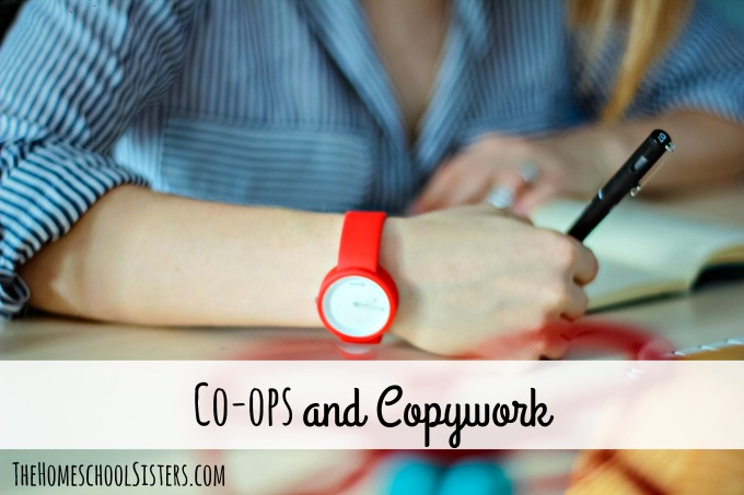 Co-ops and Copywork {Episode 87} | The Homeschool Sisters Podcast